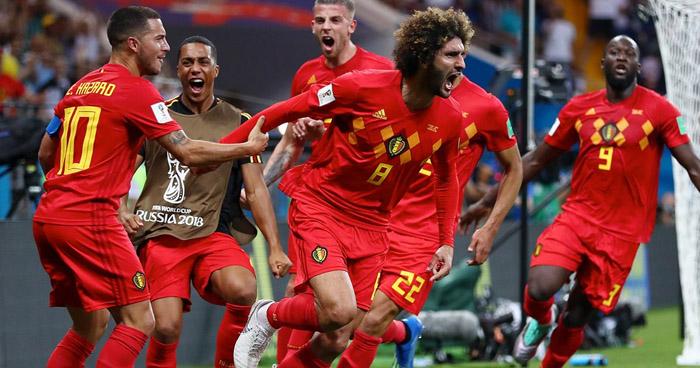 Bélgica en el ultimo minuto se clasifica a los cuartos de final, Japón quedo eliminado