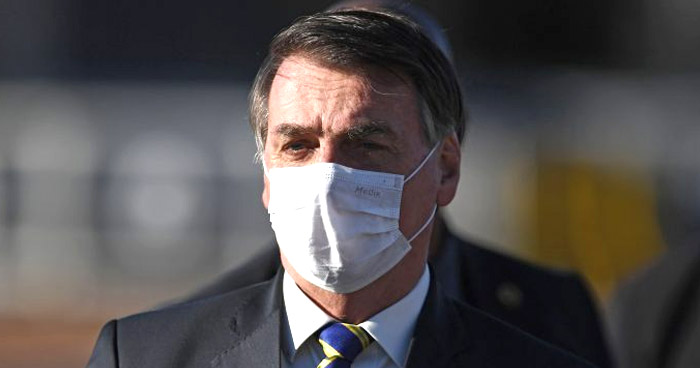 Presidente de Brasil da negativo a nueva prueba de COVID-19