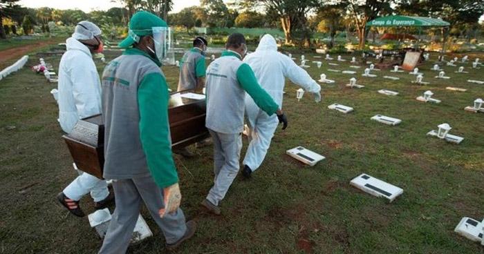 Brasil reporta 32.188 nuevos contagios de COVID-19 este miércoles