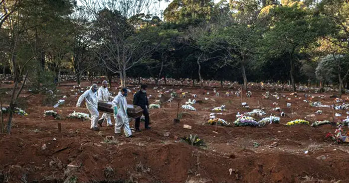 Brasil supera las 72.000 muertes por COVID-19