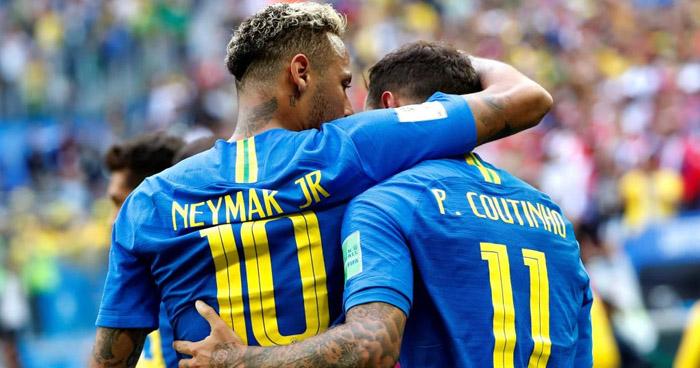 Sobre el final, Brasil derrota 2-0 a Costa Rica y lo elimina del Mundial