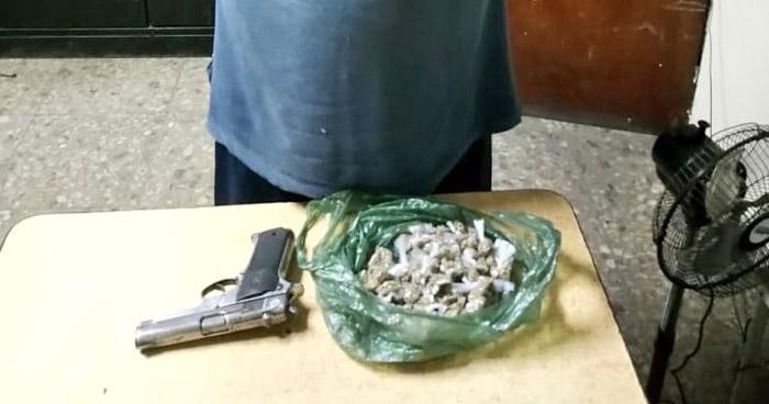 Capturan a traficante de droga tras persecución en San Martín