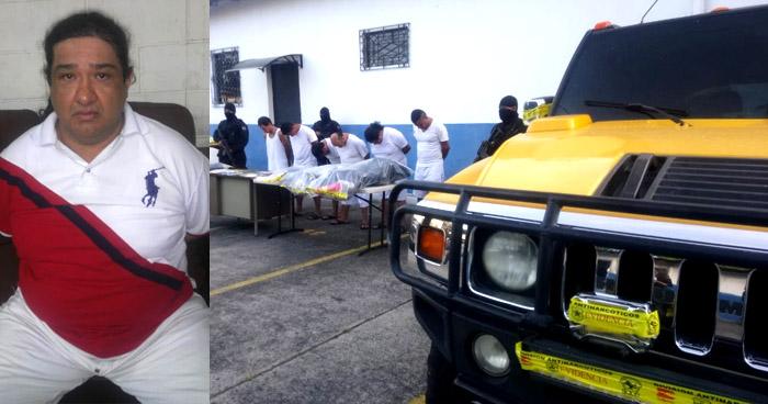 Cabecilla de narcotraficantes ordenaba desde México, lideraba el trafico de drogas en San Salvador
