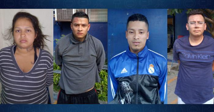 Pandilleros capturados luego de cobrar $1,500 de extorsión en San Salvador