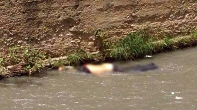 Hallan cadáver de un hombre flotando en un río de Chalchuapa, Santa Ana