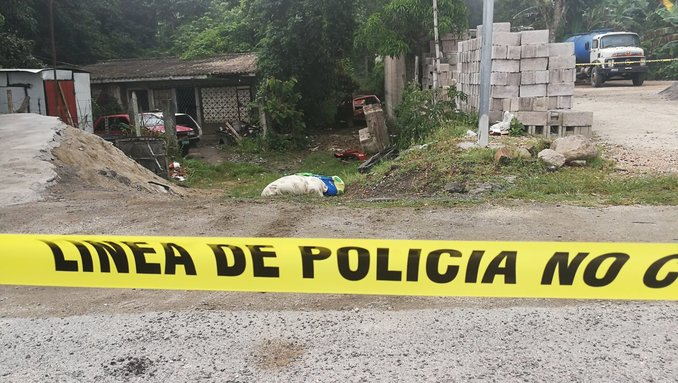 cadaver mutilado en San Martín