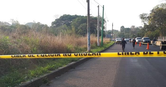 Encuentran cadáver de un hombre en calle a la Barra de Santiago