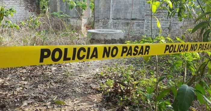 Asesinan a pandillero y lanzan su cadáver al interior de un pozo en La Paz