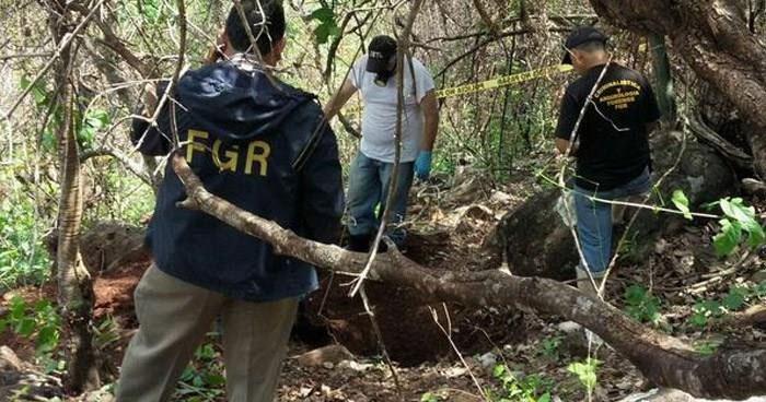 Encuentran cadáver semienterrado cerca de un cementerio en San Vicente