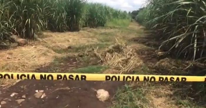 Encuentran el cadáver putrefacto de una persona, al interior de una Hacienda en Sonsonate
