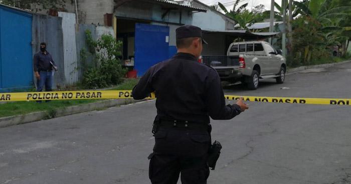 Asesinan a dos palabreros de la pandilla 18 en Cuscatancingo