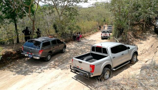 Un cadáver putrefacto y otras osamentas fueron encontrados en Coatepeque, Santa Ana