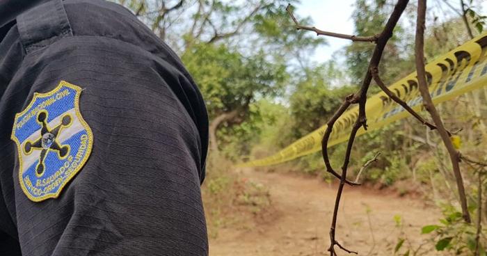 Cadáveres mutilados fueron encontrados en Jucuaran, Usulután