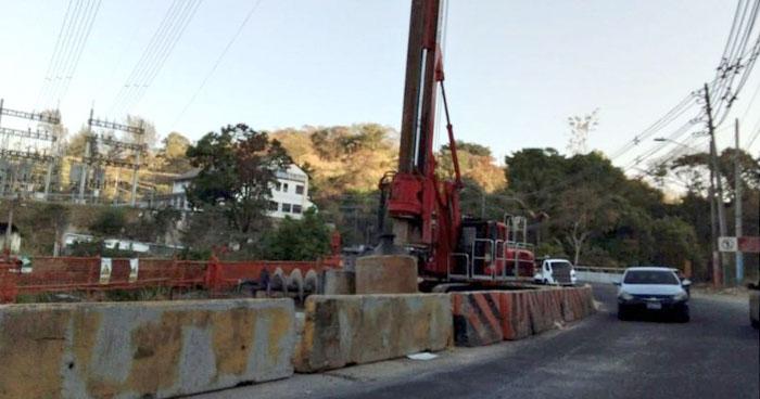 Hoy habrá restricción de tráfico por 5 horas en puente Agua Caliente