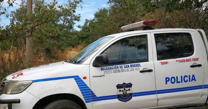 Encuentran camioneta calcinada en predio baldío de Uluazapa, San Miguel