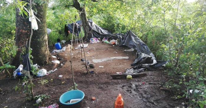 Desmantelan refugio de pandilleros en zona rural de Cabañas, uno fue capturado