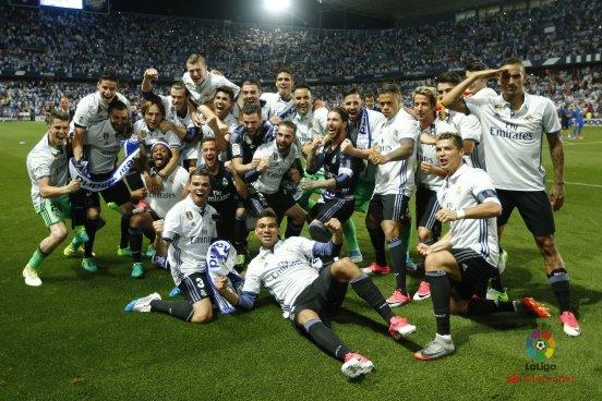 Real Madrid es Campeón de La Liga