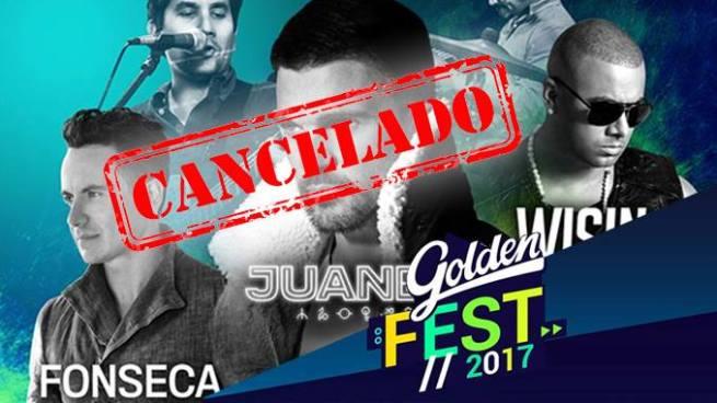 Cancelan 'Golden FEST' por daños a infraestructura por lluvia de anoche