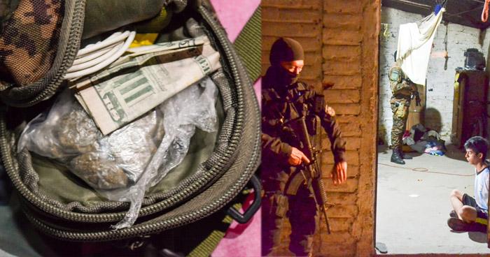 Encuentran droga durante allanamientos en operativos La Roca y Piedra Pintada