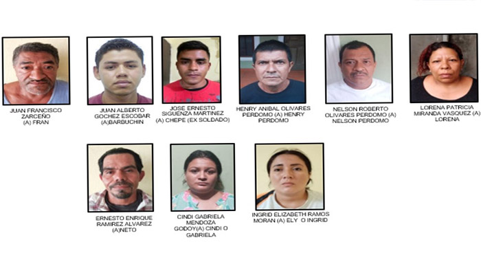 Capturan a 9 cómplices de ex agente acusado por asesinatos en Chalchuapa
