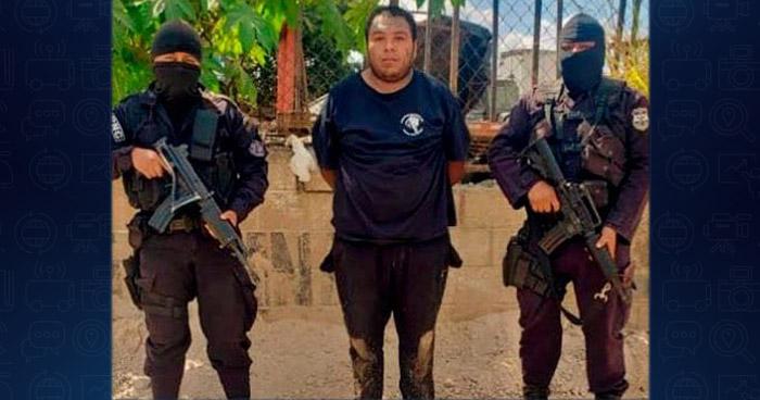 Capturan a cabecilla de pandilla buscado por asesinar a elemento de la PNC