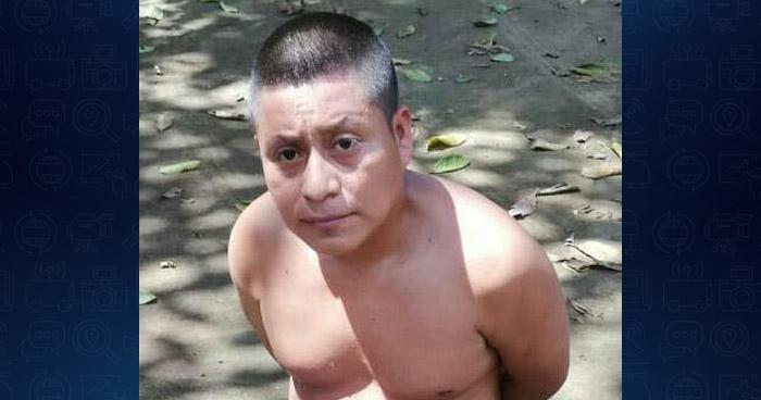 Capturan a hombre que participó en un homicidio en Nahuizalco, Sonsonate