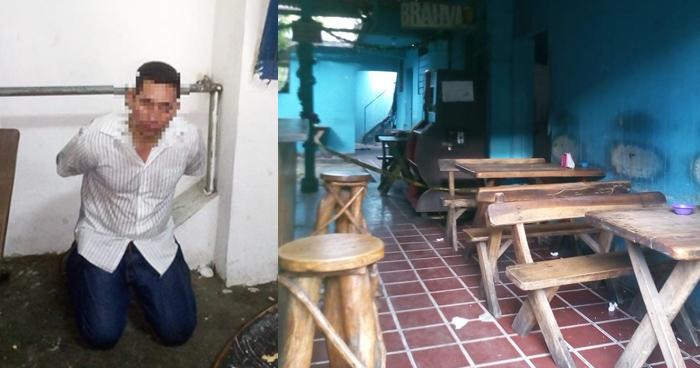 Capturan a seguridad de la CSJ que intentó asaltar una cervecería en el centro de San Salvador