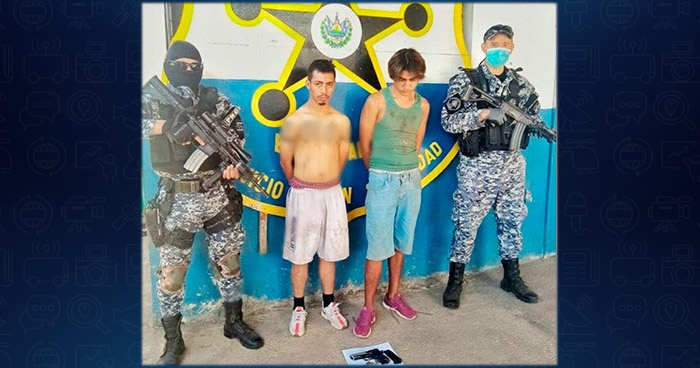 Capturan a pandilleros buscados por extorsión en Ahuachapán