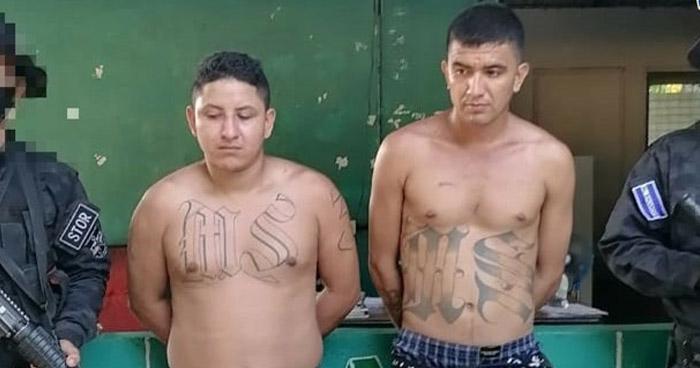 Pandilleros capturados por portación y fabricación de armas