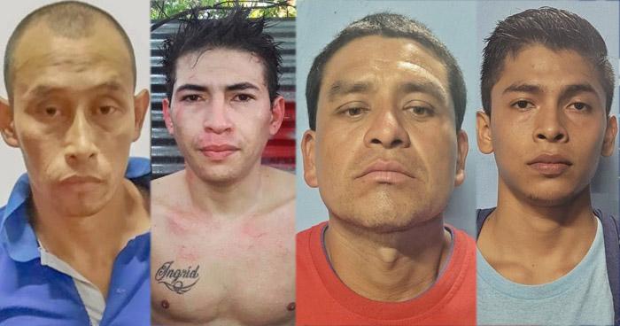 Pandilleros capturados por homicidio y privación de libertad