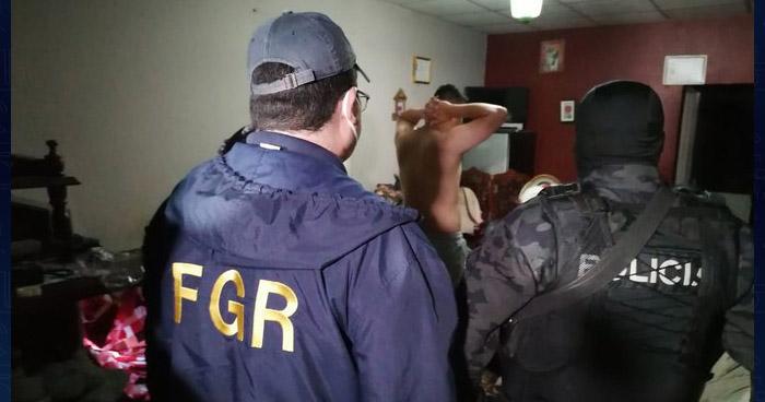 Capturan a pandilleros por desaparición de un agente de la PNC