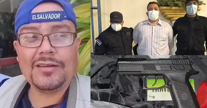 Capturan a Roberto Silva por acoso a excandidata del FMLN