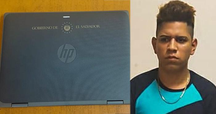 Incautan laptop que fue robada a punta de pistola en San Miguel