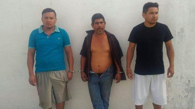 Capturan a 3 hombres por extorsionar a pobladores en Usulután