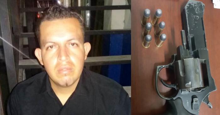 Capturan a sujeto con arma de fuego en durante registros en centros nocturnos