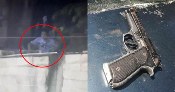 Ubican por medio de cámaras a delincuentes armados en Ayutuxtepeque