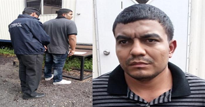 INTERPOL captura a pandillero que planeaba asesinar a una mujer a quien extorsionaba