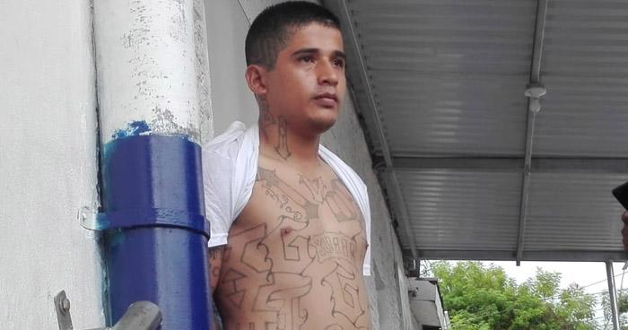 """Pandillero capturado en operativo """"Casa Segura"""" en Ilopango"""