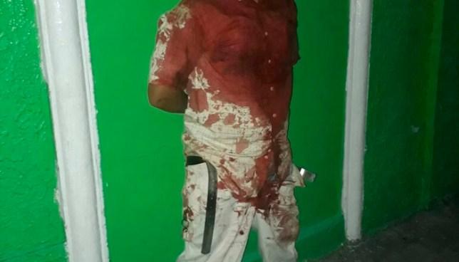 Este es el hombre que decapitó a otro porque le robó su celular en el centro de San Salvador