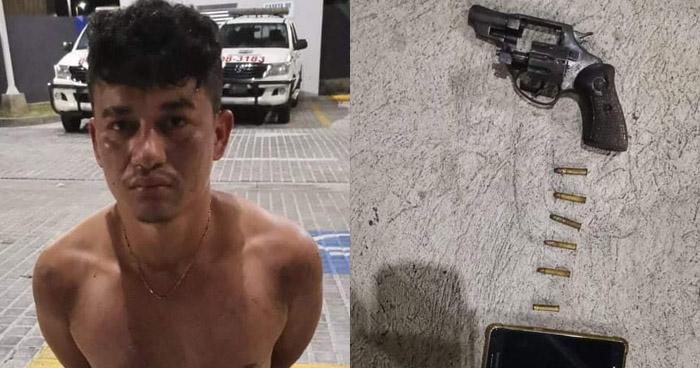 Capturado cuando asaltaba a una mujer en Zacatecoluca, La Paz