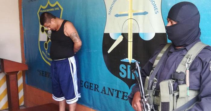 Capturan en Soyapango a cabecilla de pandilla con amplio récord criminal