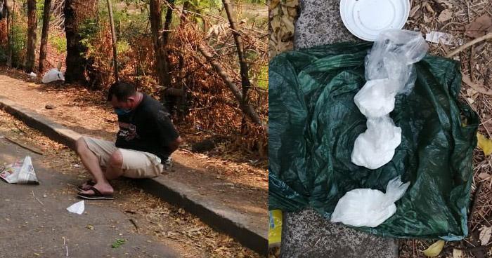 Detenido cuando transportaba cocaína en carretera La Unión