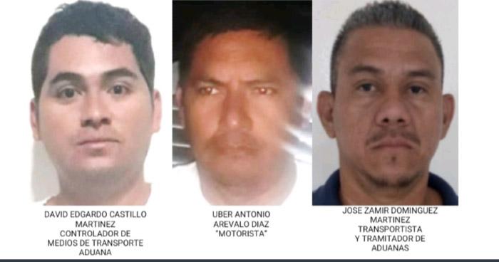 Capturados evadieron $1.5 millones de pago de aduana