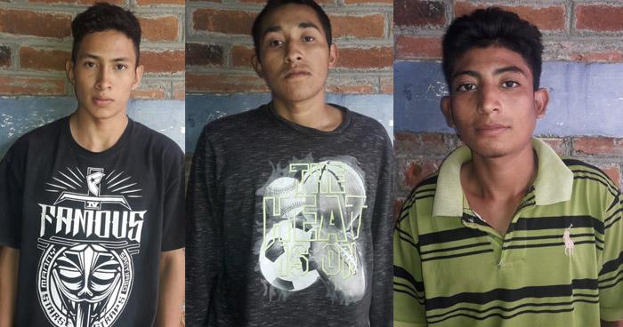 Capturan a sujetos que intentaron asesinar a tres personas en Ahuachapán