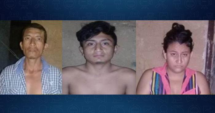 Incautan más de 70 porciones de droga y un arma artesanal a traficantes de Ahuachapán