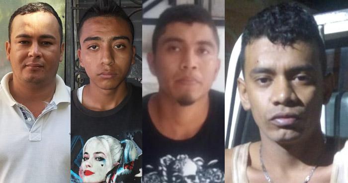 Seis capturados por diferentes delitos cometidos en diferentes puntos del país