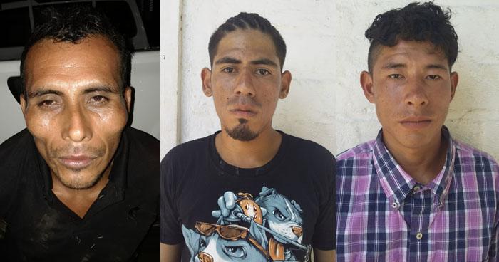 Pandilleros capturados cuando distribuían droga en Sonsonate