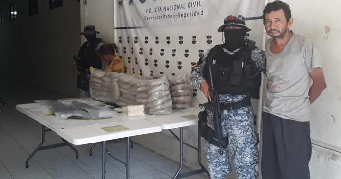 Encuentran $35,000 en droga al interior de una vivienda de San Miguel