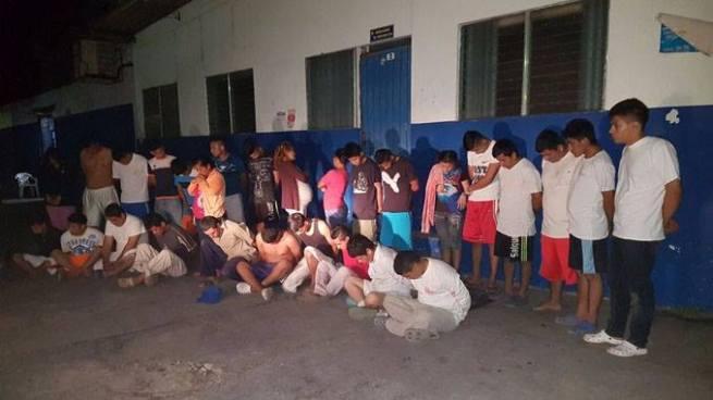 Capturan a 33 pandilleros tras fuerte operativo en diferentes municipios de San Salvador