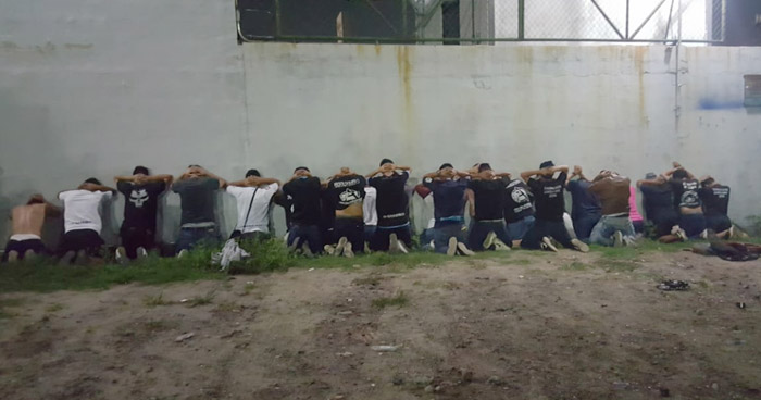 Capturan a 25 aficionados del Alianza por desordenes públicos